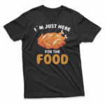 i`m_just_here_for_the_food-black-M